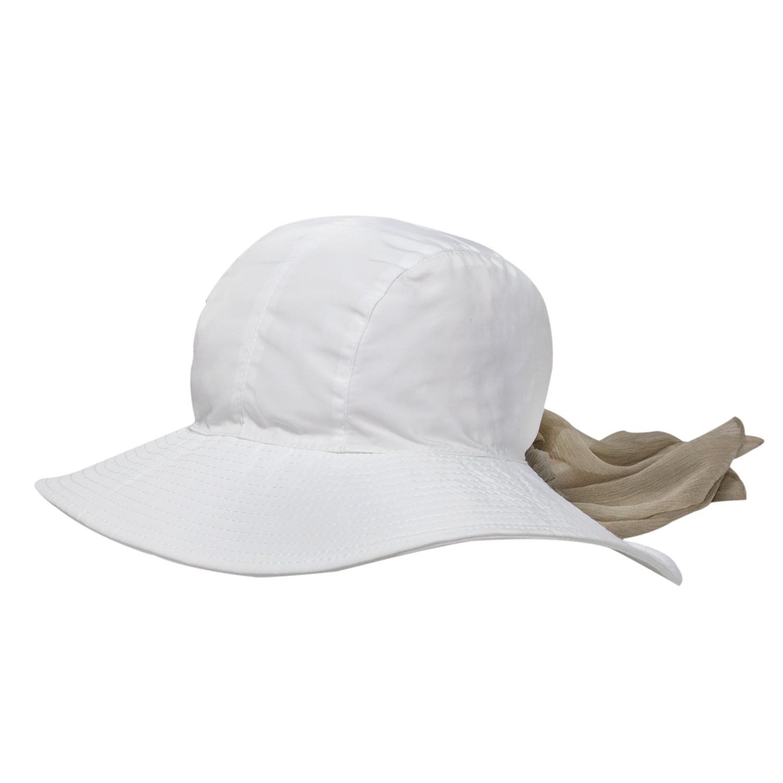 Chapéu Feminino San Remo Branco - Proteção Solar Uv