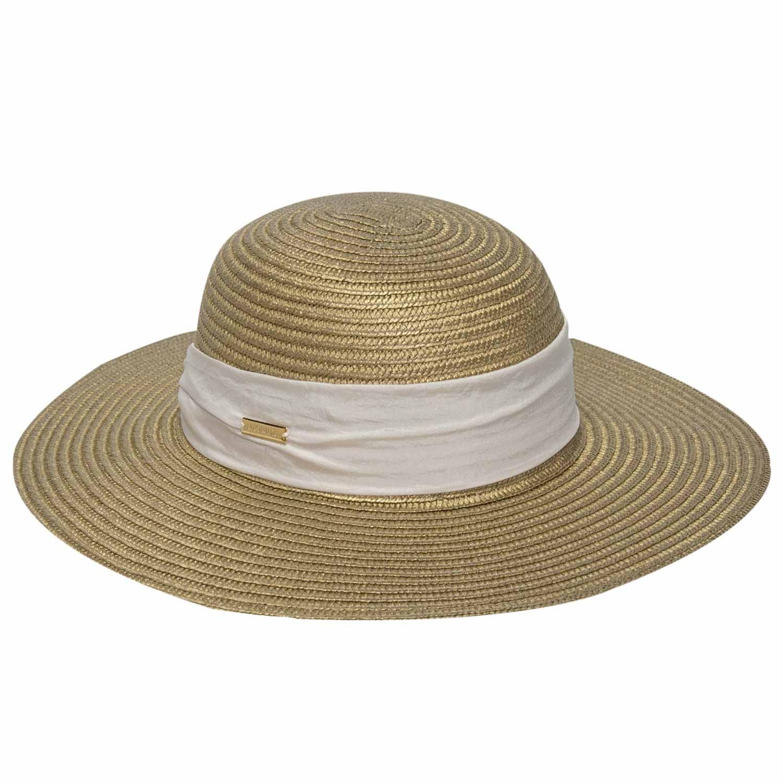 Chapéu Haiti Feminino Bronze - Proteção Solar UV