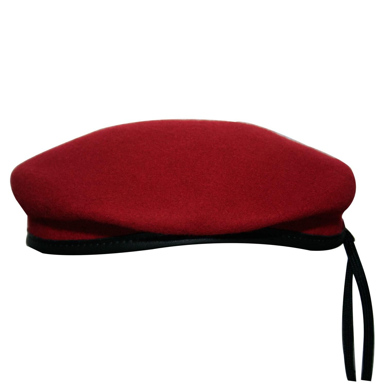 Boina Pralana Militar Vermelha