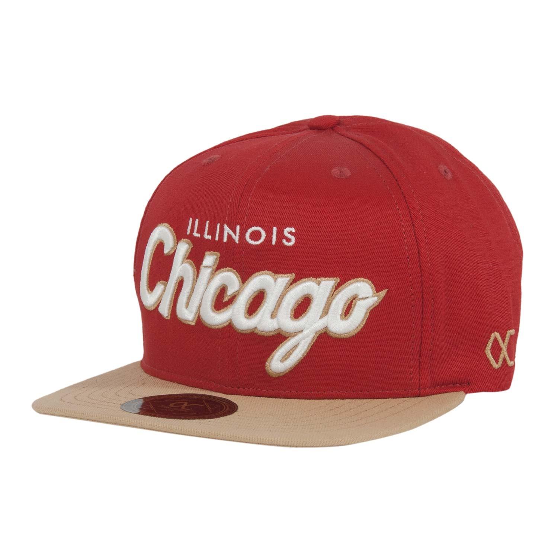 Boné Aba Reta Chicago Run Vermelho