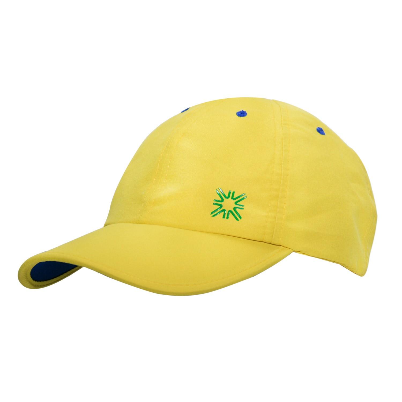 Boné Uvline Brasil Amarelo - Proteção Solar UV