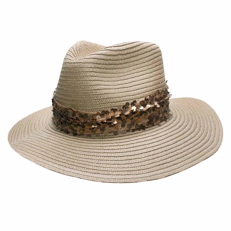 Chapéu Vegas Bege- Proteção Solar UV