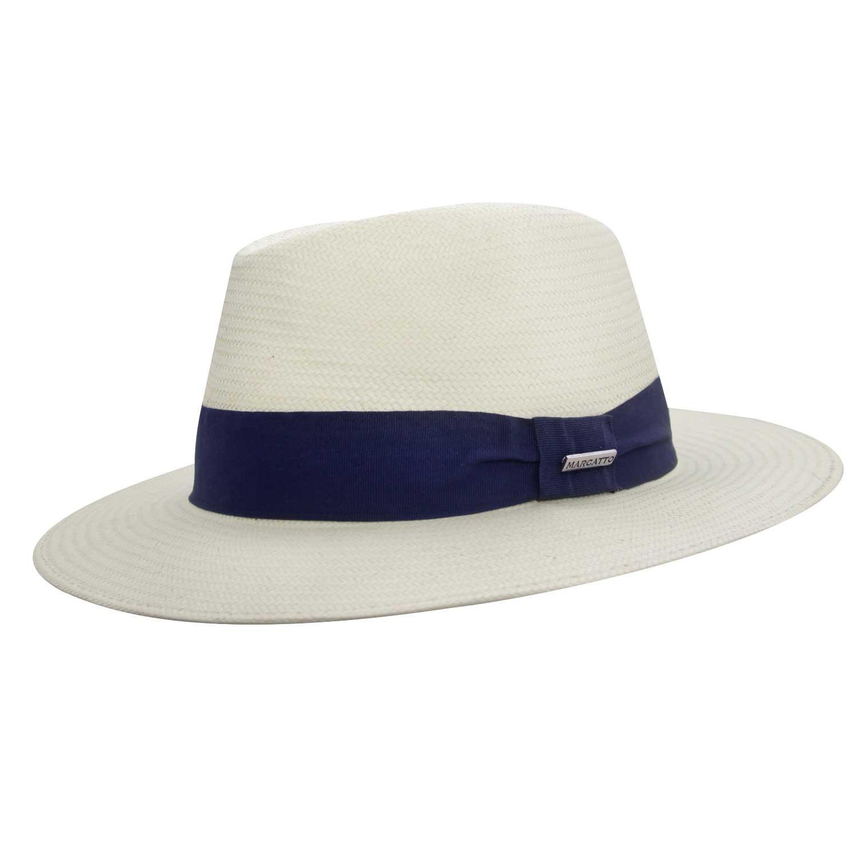 Chapéu Valença Fita Azul Proteção Solar UV- Aba larga