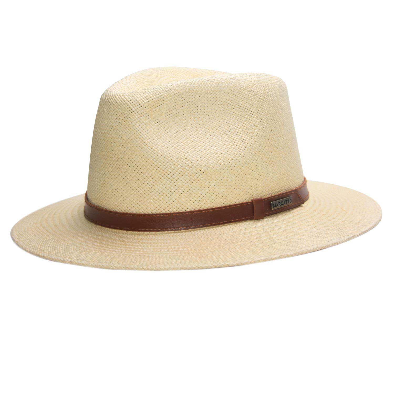 Chapéu De Palha Panamá Marcatto Alencar - Aba Larga