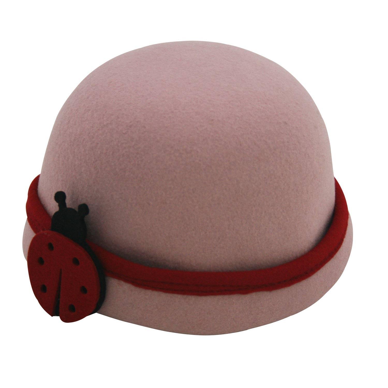 Chapéu Infantil Donna Joaninha Rosê