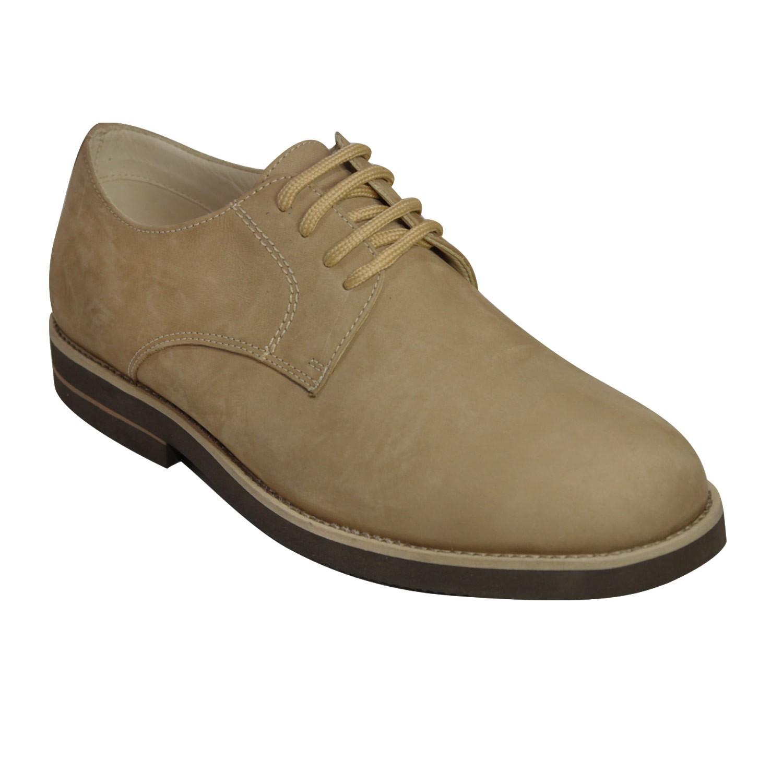 Sapato Masculino Nobuck SanMarino Ultraleve