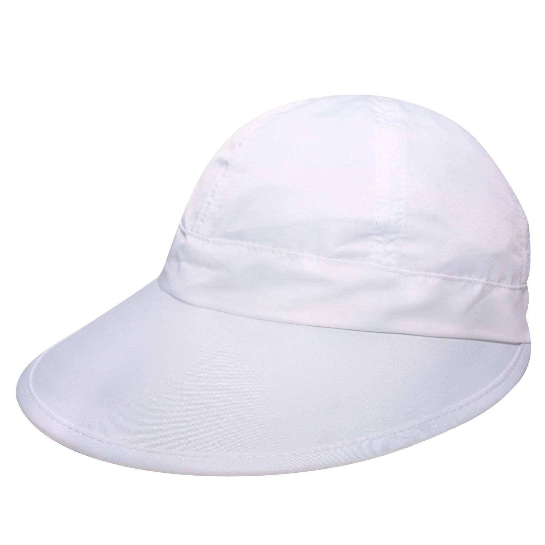 Viseira Nice Branca - Proteção Solar UV