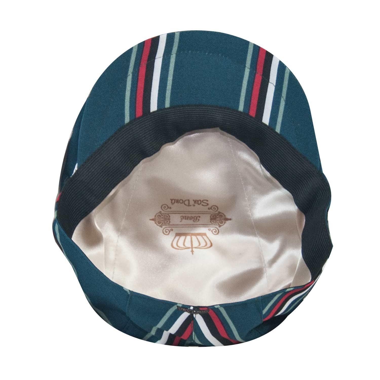 Boina Masculina Italiana Listrada Verde 82f39404045