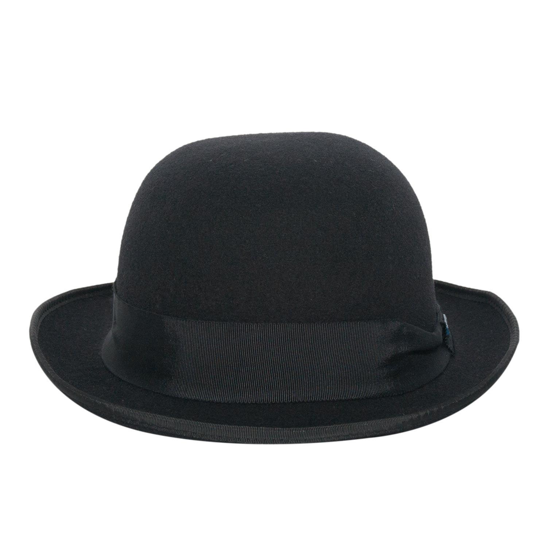 Chapéu Coco Chaplin Bowler Preto 16951d22a21