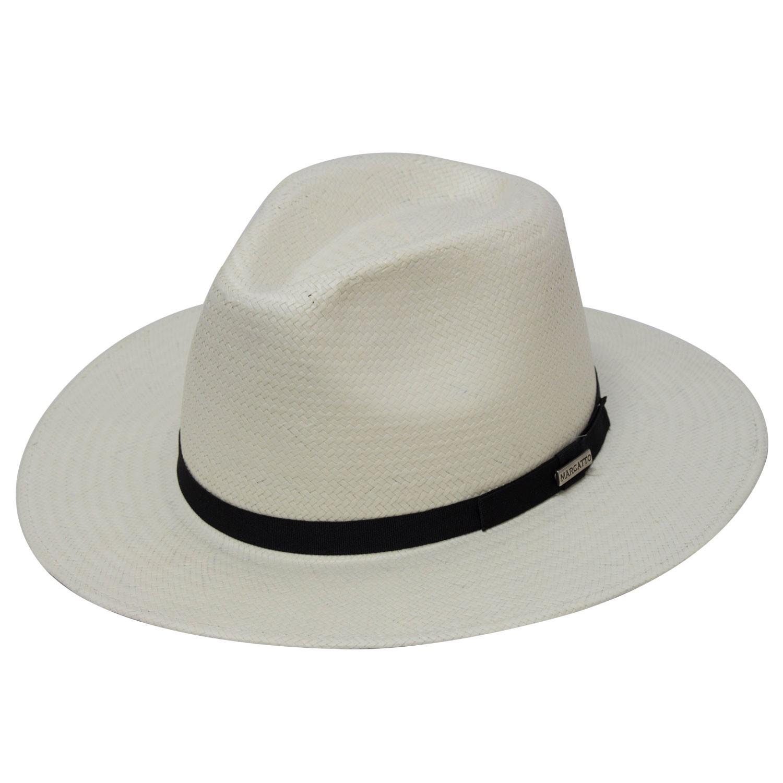 Chapéu Classic Grego Preto Proteção Solar UV