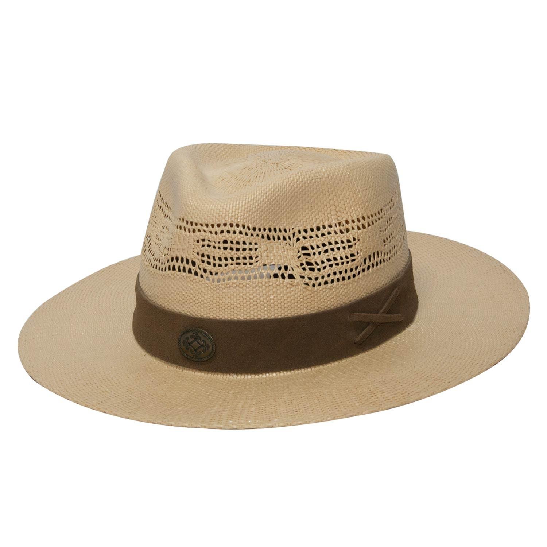 Chapéu de Cavalgada Masculino Copa Ventilada