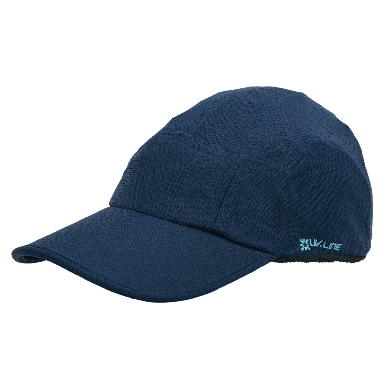 Boné Athletic Dry Marinho - Proteção Solar UV
