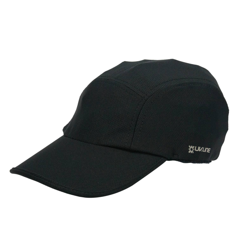 Boné Athletic Dry Preto - Proteção Solar UV