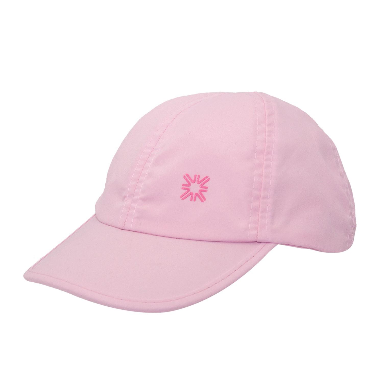 Boné Infantil Baby Proteção UV Rosa