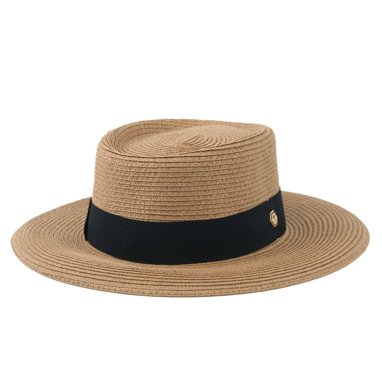 Chapéu de Praia Feminino Letícia Caramelo