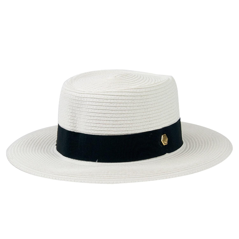 Chapéu de Praia Feminino Letícia Branco
