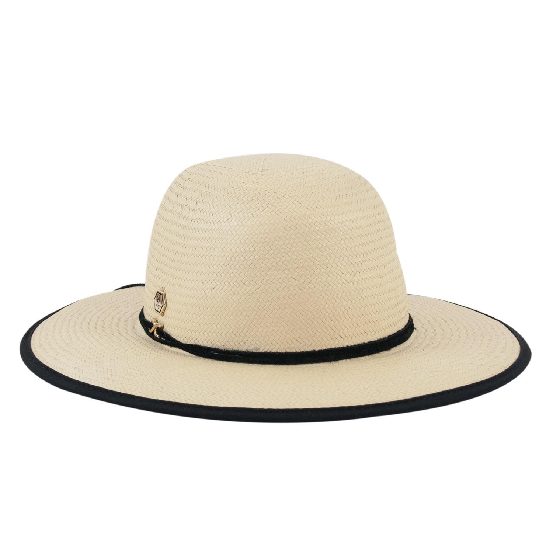 Chapéu de Praia Feminino Proteção UV Bege