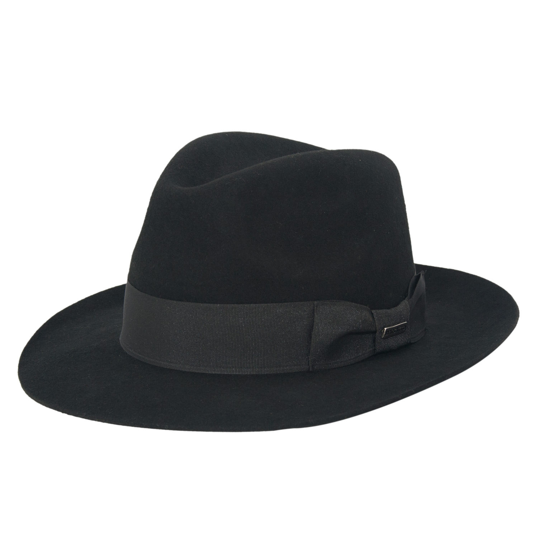 Chapéu Máfia Preto Masculino Casablanca