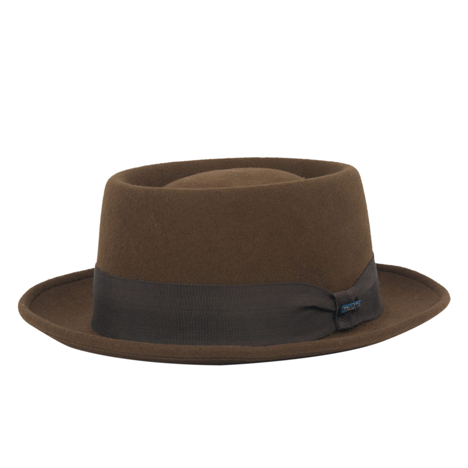Chapéu Porkpie Marrom Fedora Heisenberg Breaking Bad 7c41c969d71