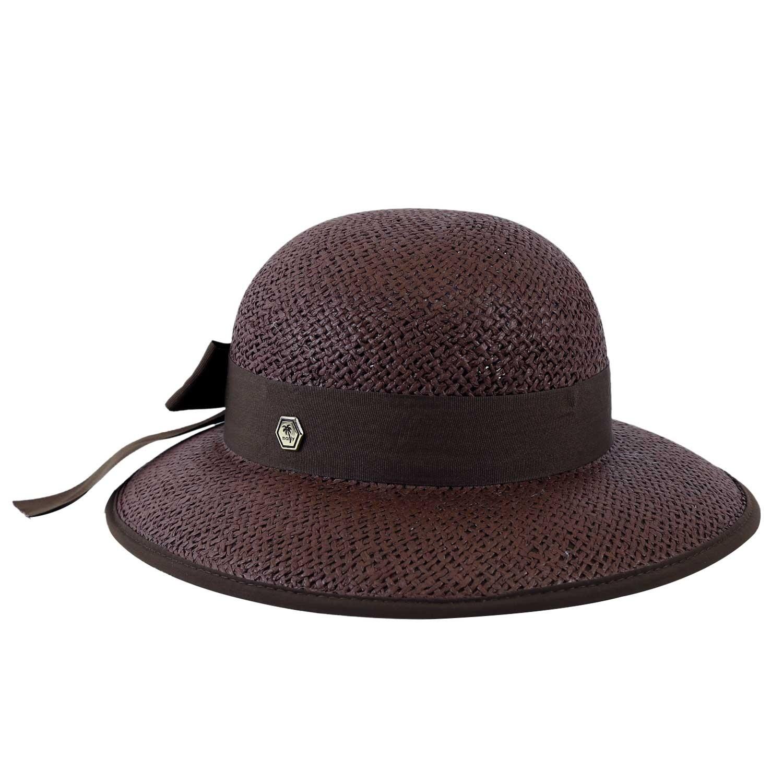 Chapéu de Praia Feminino Proteção UV Marrom