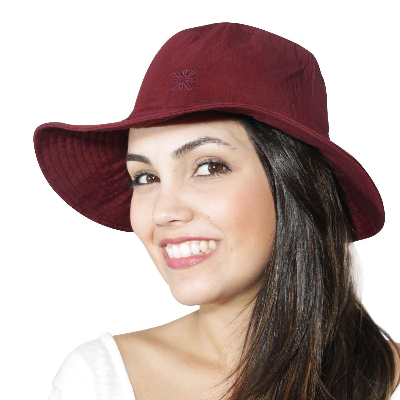 Chapéu Califórnia Vinho - Proteção Solar UV