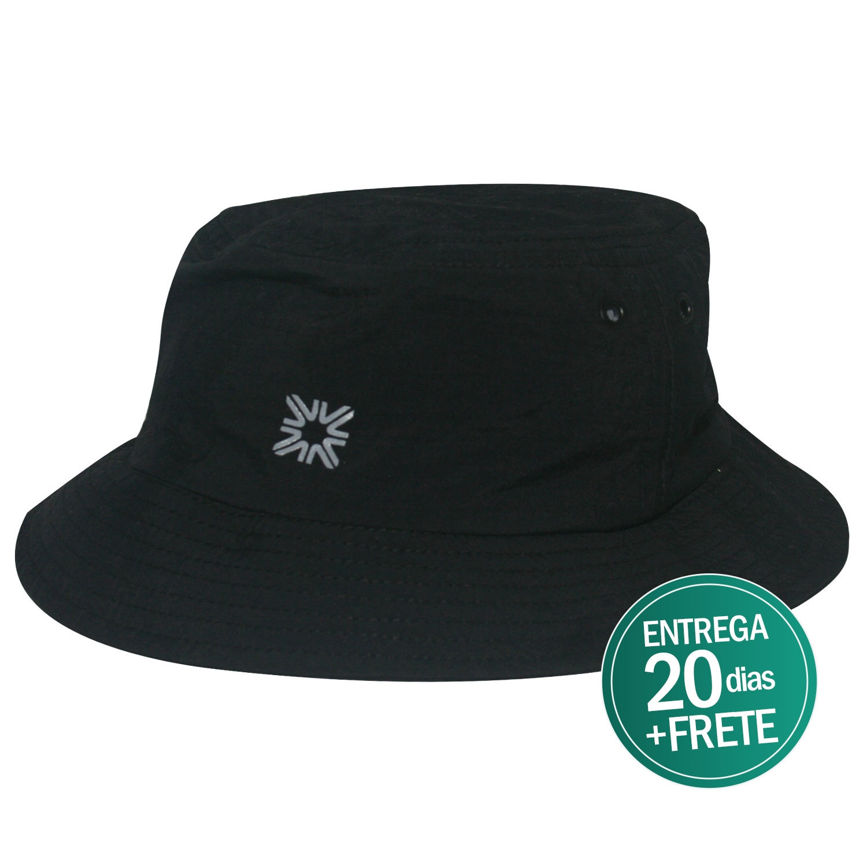 Chapéu Toronto Masculino Preto- Proteção Solar UV e117cd367fd