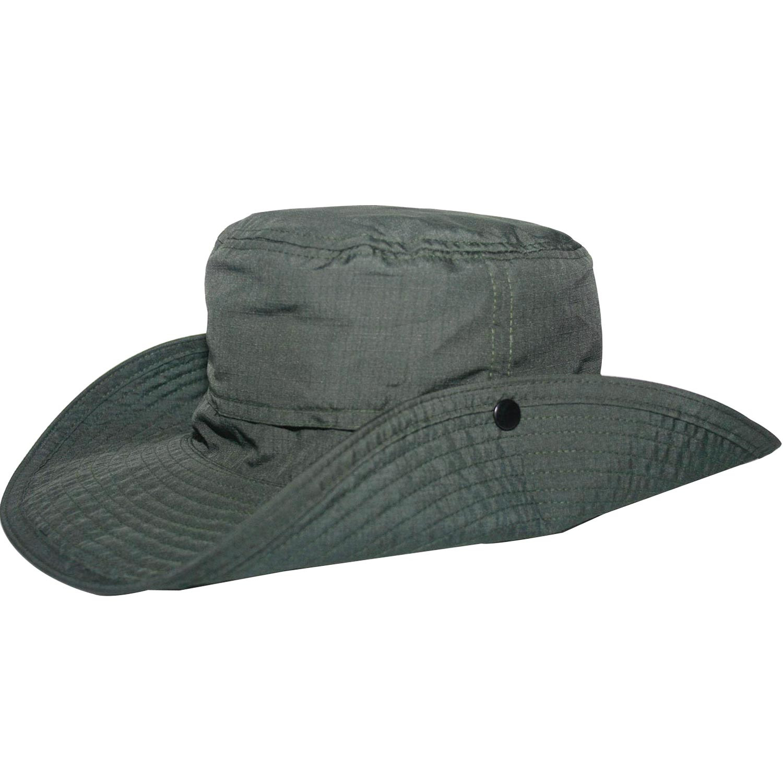 Chapéu Masculino Safari Chumbo - Proteção Solar UV