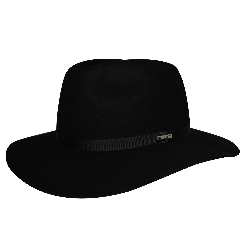 Chapéu Marcatto Classic Donatello Preto