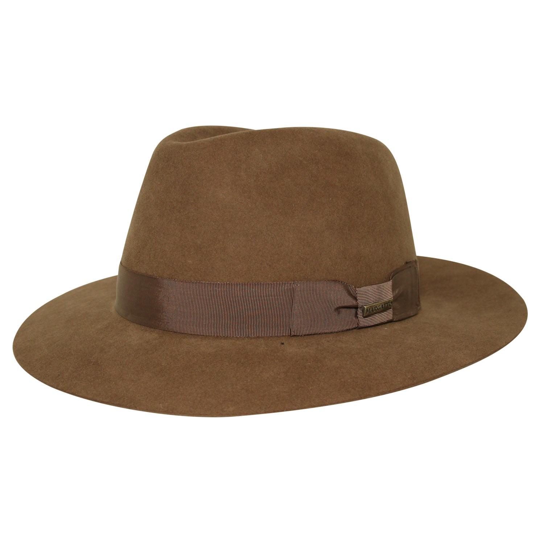 Chapéu Marcatto Pêlo de Lebre Kennedy Marrom - XXX cb51c328015