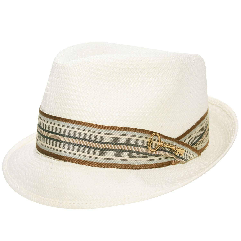 Chapéu Fedora Martin Panamá Marfim