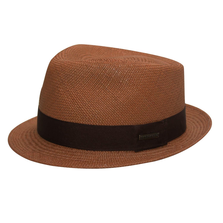 Chapéu Fedora Marcatto de Palha Panamá Dean Marrom ... 6ab8a866b02