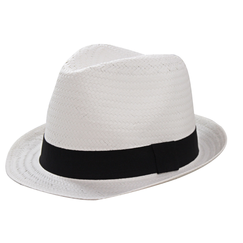 Chapéu Fedora Zequete Branco