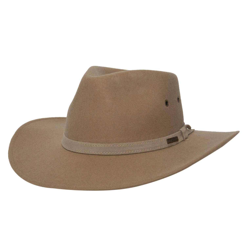 Chapéu Masculino Feltro Django Bege