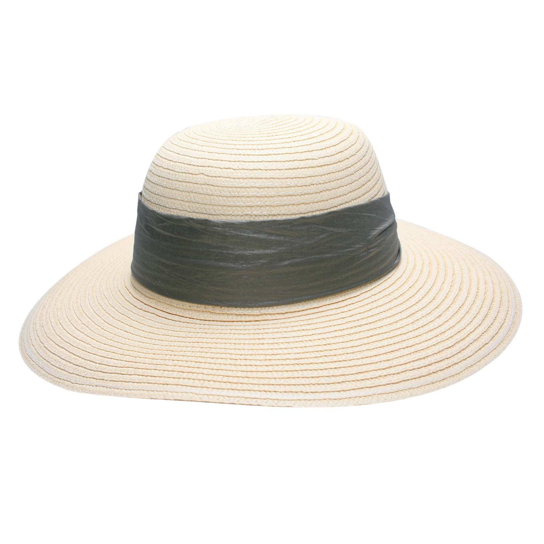 Chapéu Haiti Feminino Areia- Proteção Solar UV