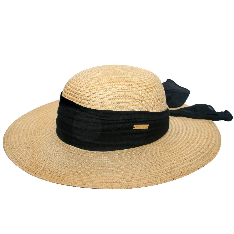 Chapéu Haiti Feminino Natural - Proteção Solar UV