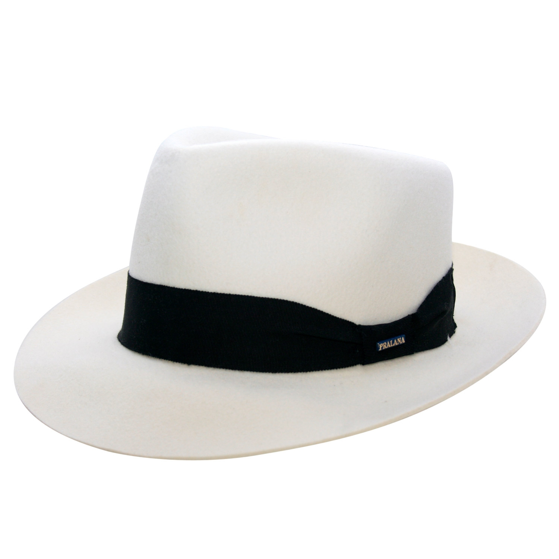 chapeu mafioso branco