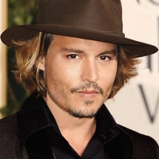 Chapéu do Johny Depp
